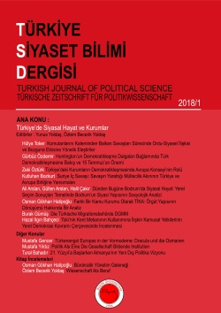 2018/1 Türkiye'de Siyasal Hayat ve Kurumlar - Political Life and Institutions in Turkey